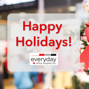 Happy Holidays from Everyday Office Supplies