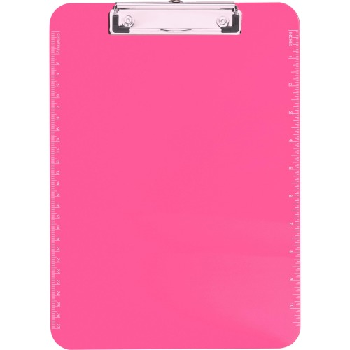 Business Source Transparent Plastic Clipboard