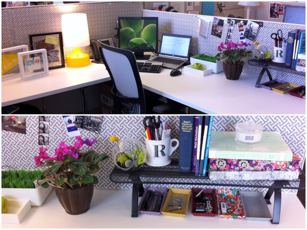 8 Cubicle Decor Ideas to Make Your Desk Less Boring