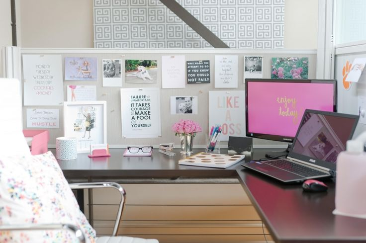 8 cubicle decor ideas to make your desk less boring - Work office decorating ideas pictures ...