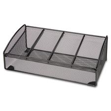 Lorell 4-compartment Steel Mesh Valet