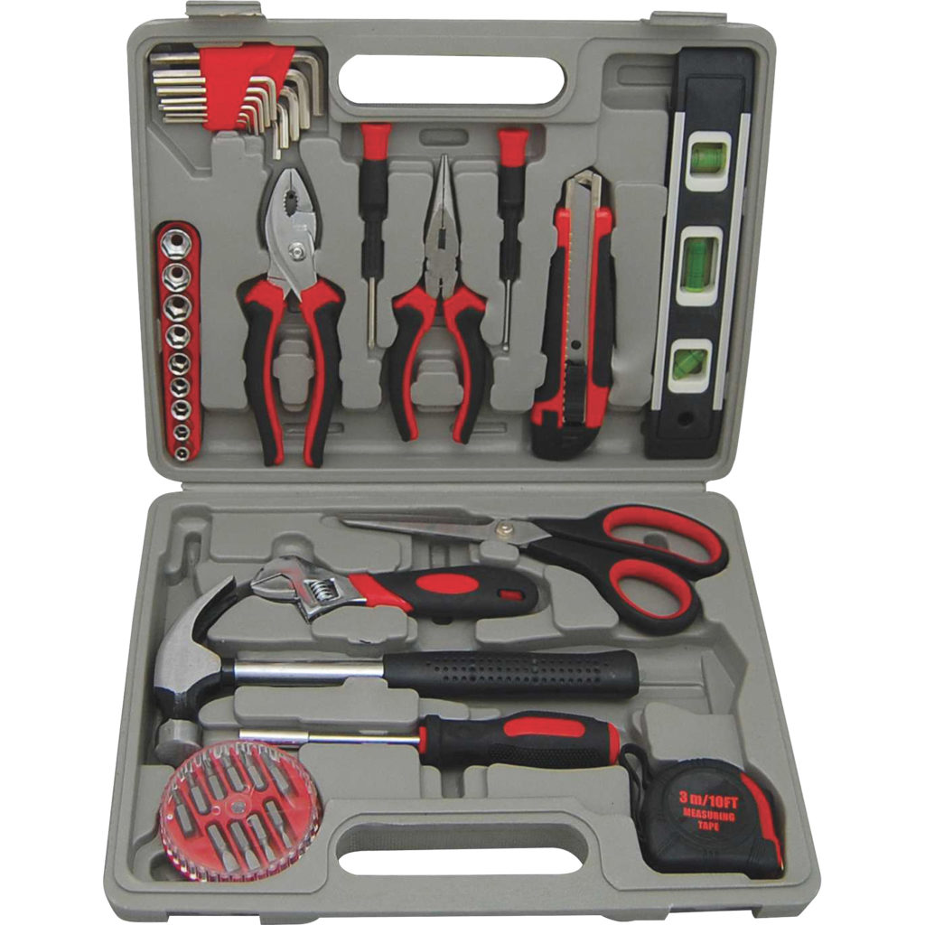 Genuine Joe 42 Piece Tool Kit with Case
