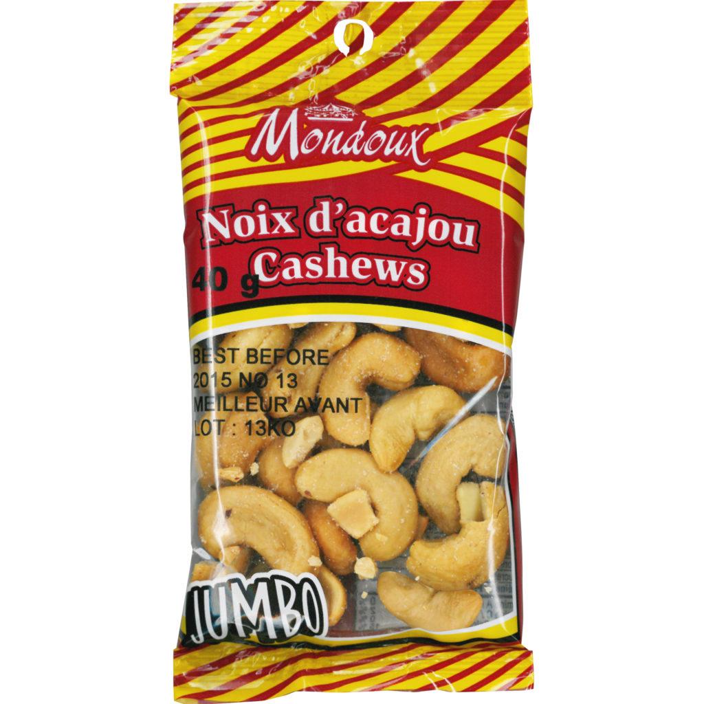 Mondoux Salted Jumbo  Cashew Nuts