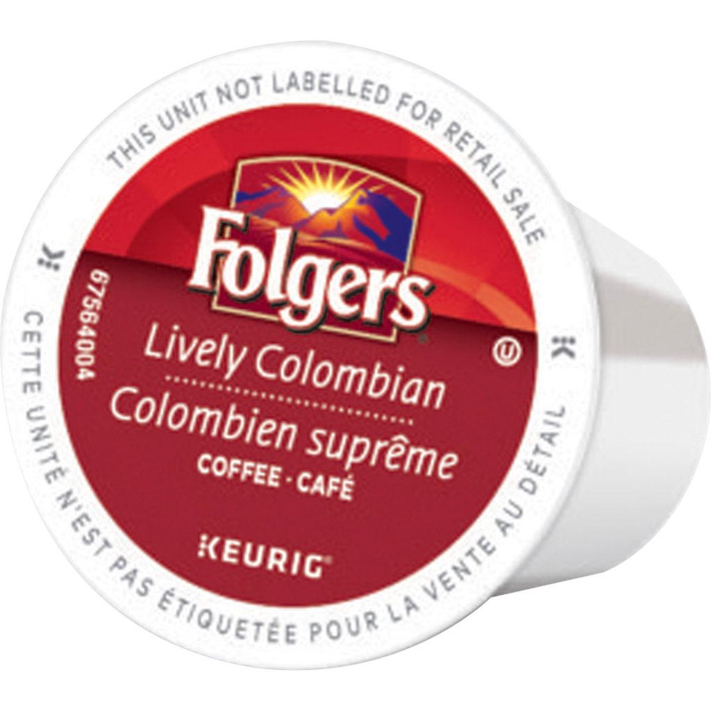 FOLGERS KCUP COLOMB.  MED 24/BX